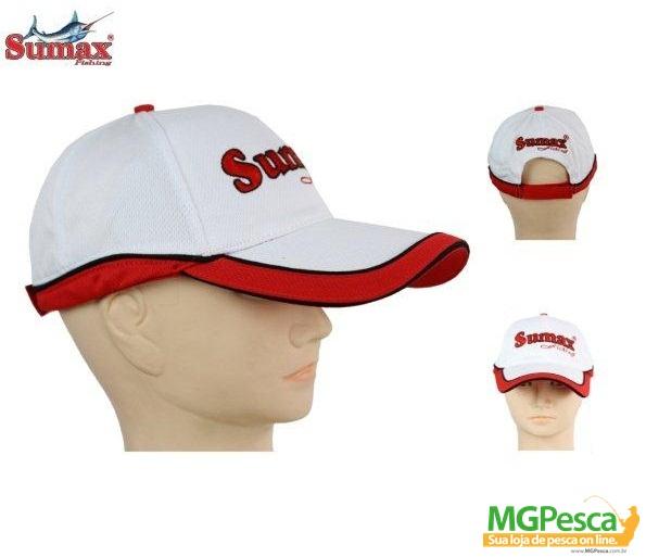 Boné Sumax SC-001W - Branco  - MGPesca