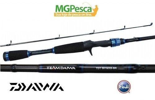 """Vara Team Daiwa T - TDT 6"""" (1,83m) 25lbs - TDT601MHXB-BR  - MGPesca"""