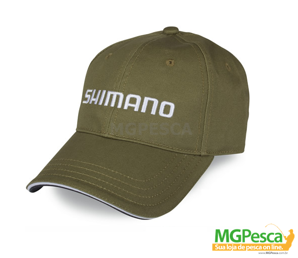 Boné Shimano AHAT100CG - Verde  - MGPesca