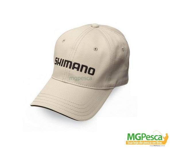 Boné Shimano AHAT100CS - Bege  - MGPesca