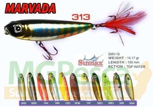 Isca Artificial Sumax Marvada 100  - MGPesca