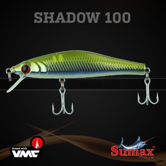 Isca Artificial Sumax Shadow 100  - MGPesca