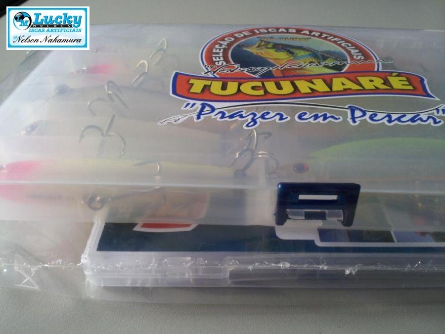 Kit Seleção De Iscas Tucunaré By Nelson Nakamura + Dvd De Técnicas  - MGPesca