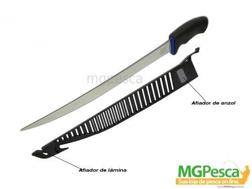 Faca Fileteira Marine Sports Fillet Knife MS10-00008  - MGPesca