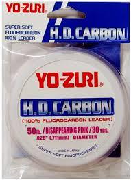 Leader Fluorcarbono Yo-zuri HD Carbon - 0,438mm - 20 Lbs  - MGPesca