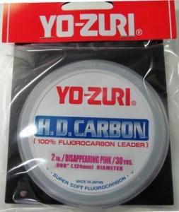 Leader Fluorcarbono Yo-zuri HD Carbon - 0,620mm - 40 Lbs  - MGPesca