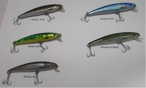 Isca Artificial Strike Pro Strik Minnow 90  - MGPesca