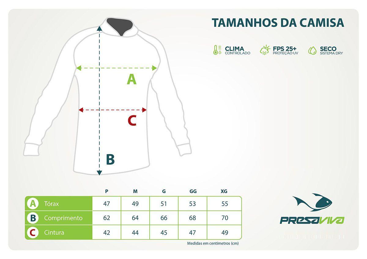 Camisa Feminina Presa Viva PV 05 Baby Rosa - Lançamento  - MGPesca