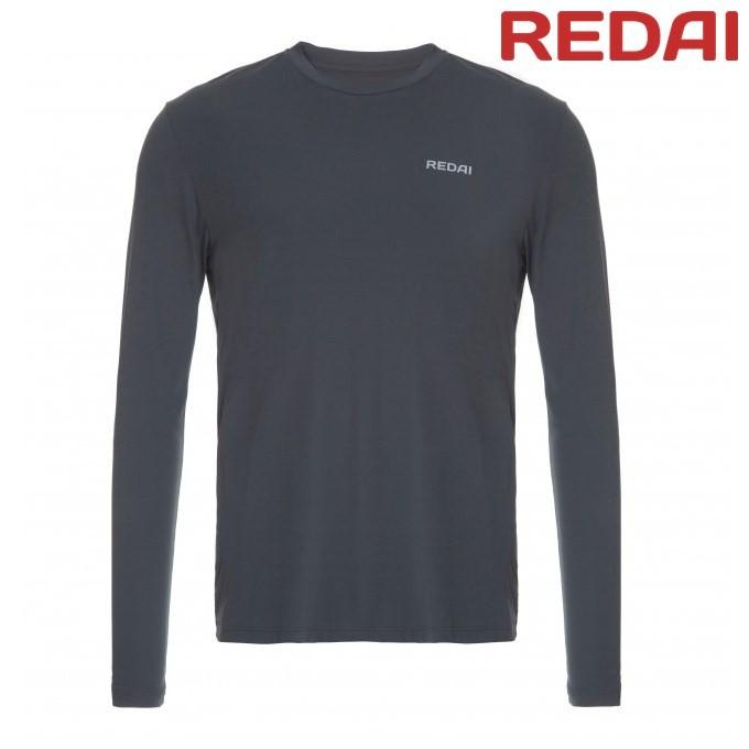 Camiseta Redai Performance Masculina Chumbo Mamushi 06f6a4fb195