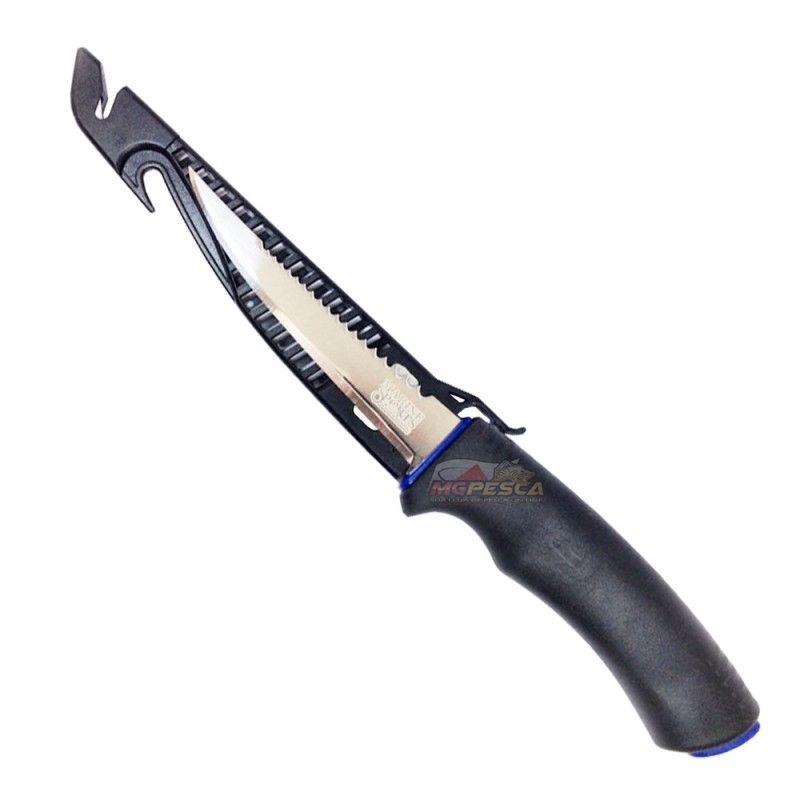 """Faca Fileteira Marine Sports Fillet Knife 4"""" MS-FK05G  - MGPesca"""