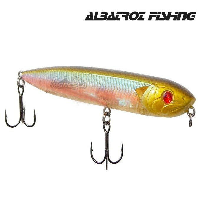 Isca Artificial Albatroz Fishing Snake Head  - MGPesca