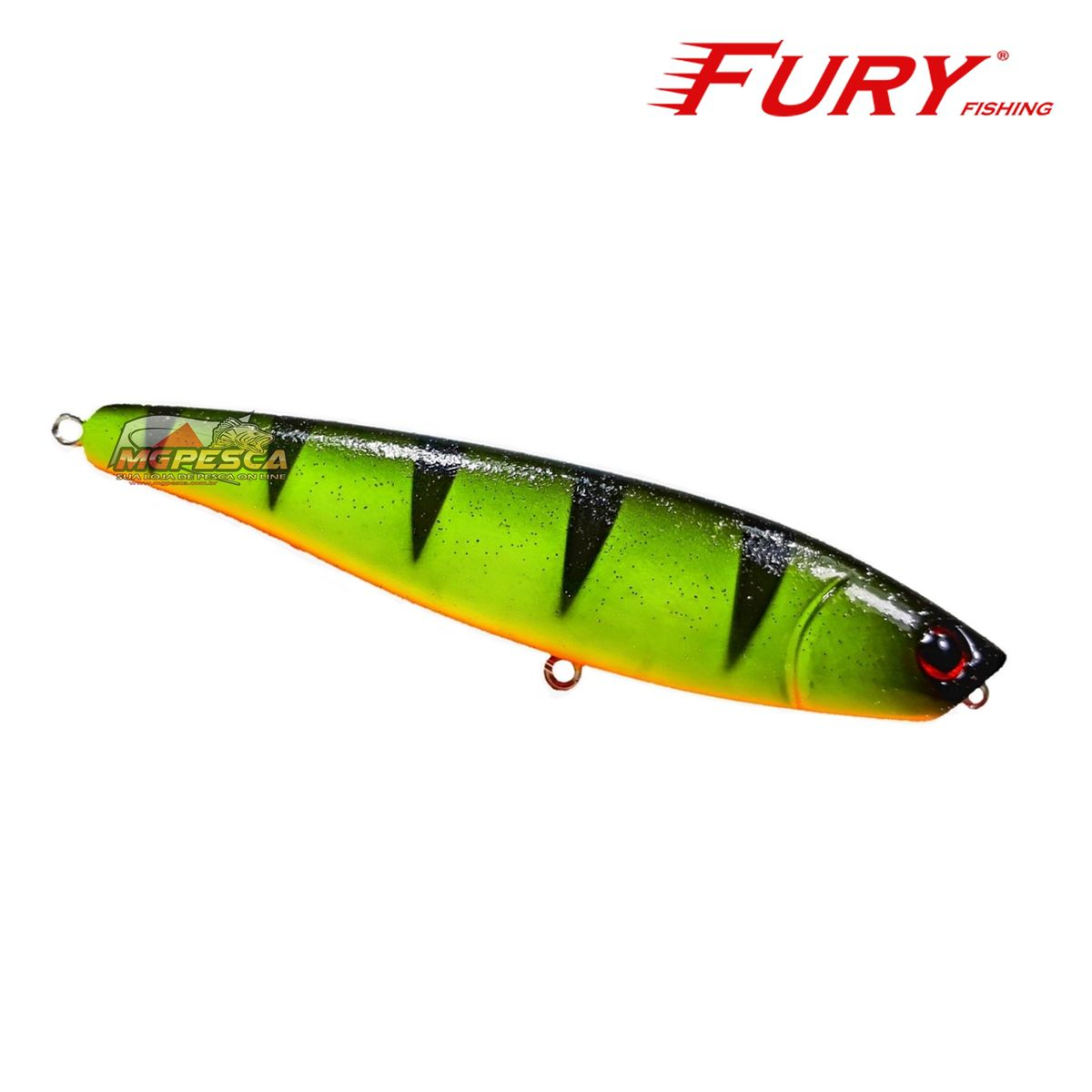 Isca Artificial Fury Fishing Fury Stick 90 - Lançamento  - MGPesca