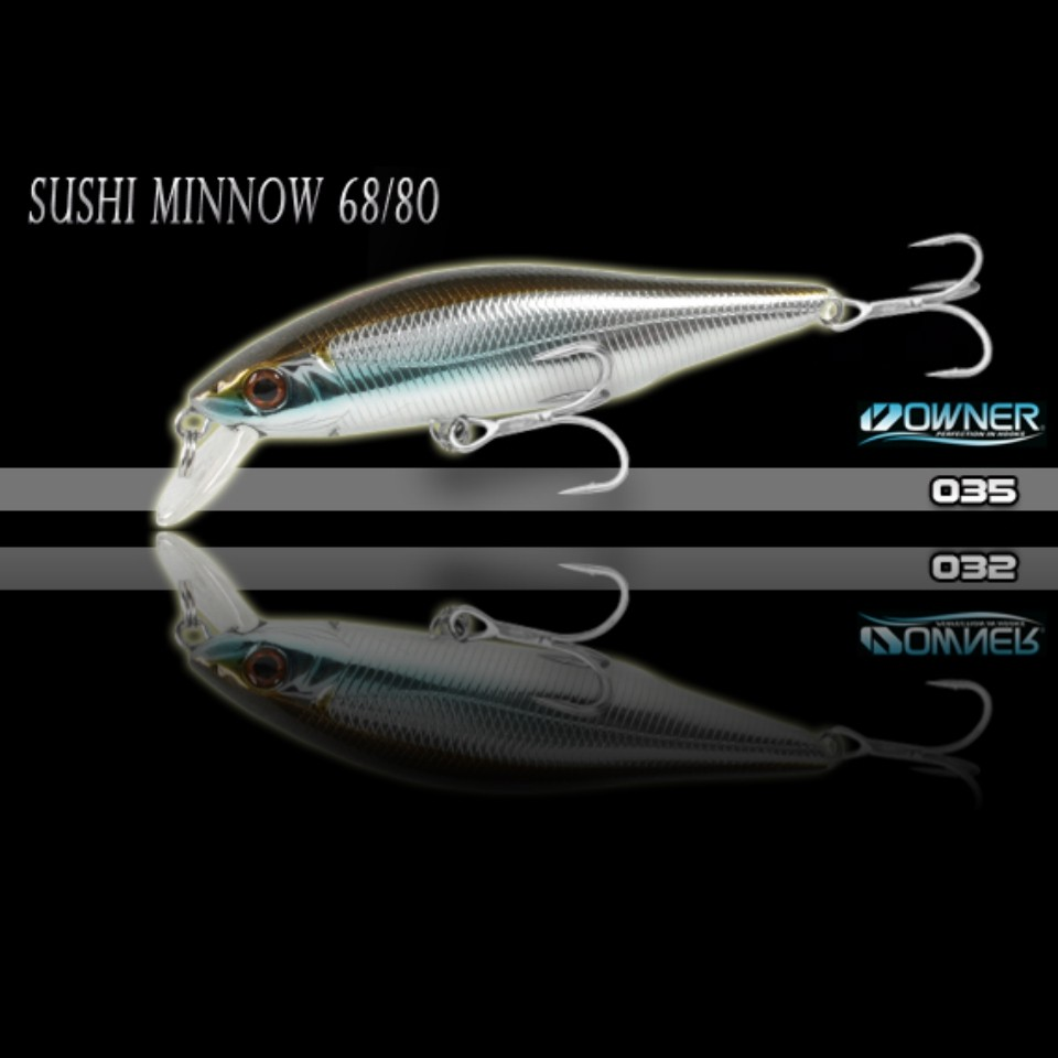 Isca Artificial Sumax Sushi Minnow 80 SSM-80  - MGPesca