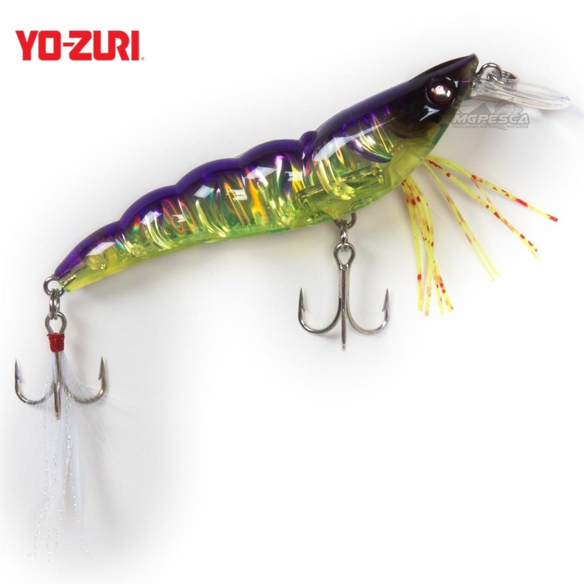 Isca Artificial Yo-Zuri Crystal 3D Shrimp (SS) 70 - F1161  - MGPesca
