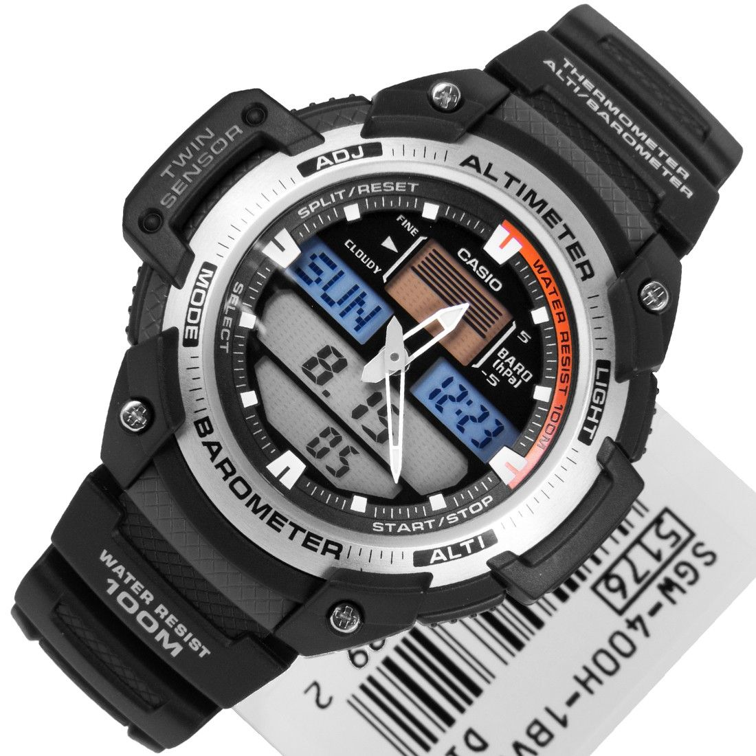 fa729317f89 Relógio Casio OutGear SGW-400H com Barômetro e Altímetro - MGPesca