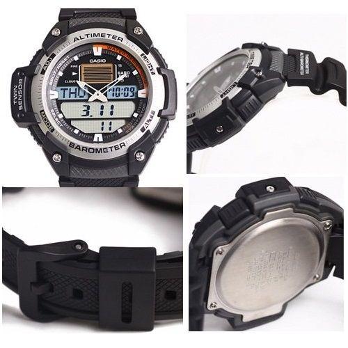 Relógio Casio Out Gear SGW-400H - Altimetro e Barometro  - MGPesca