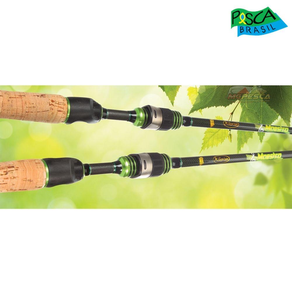00c5451f8 Vara para carretilha Pesca Brasil Millenium New Maestro 20C 5 6