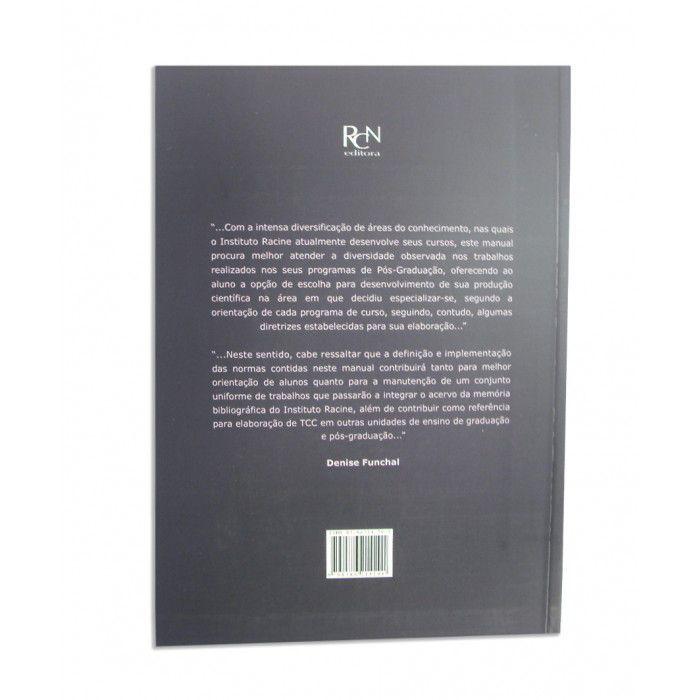 Manual Racine para Elaboração de TCC  - RCN Editora