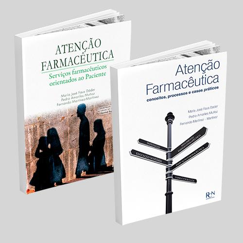 Combo Atenção Farmacêutica  - RCN Editora
