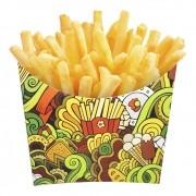 Caixinha Embalagem para Batata-frita, Chips e Porções 100 Unidades