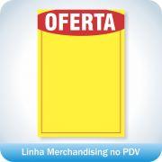 Cartaz de Oferta 21,5x31,5cm - 100 unidades