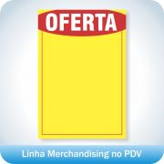 Cartaz de Oferta 43x62cm - 100 unidades