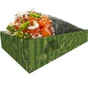 Caixa Caixinha Embalagem para Temaki - 100 unidades