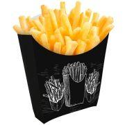 Caixinha Embalagem para Batata frita e Porções Tamanho Pequeno 1000un