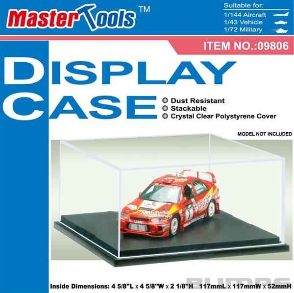 Display Case 11,7 x 11,7 x 5,2 cm - Master Tools 09806  - BLIMPS COMÉRCIO ELETRÔNICO