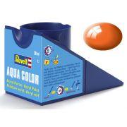 Tinta Acrílica Revell Aqua Color Laranja Brilhante - Revell 36130