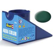 Tinta Acrílica Revell Aqua Color Verde Escuro Fosco - Revell 36139