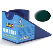 Tinta Acrílica Revell Aqua Color Preto Esverdeado Fosco - Revell 36140