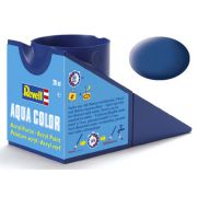 Tinta Acrílica Revell Aqua Color Azul Fosco - Revell 36156