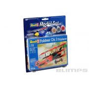 Model-Set Fokker DR.1 Triplane - 1/72 - Revell 64116