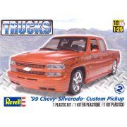 Chevy Silverado 1999 Custom Pickup - 1/25 - Revell 85-7200