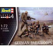 Figuras de Paraquedistas Alemães (modernos) - 1/72 - Revell 2521