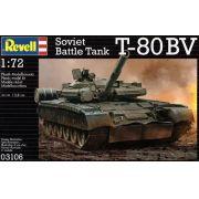 Tanque Soviético T-80 BV - 1/72 - Revell 03106