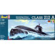 Submarino Alemão Classe 212 A - 1/144 - Revell 05019