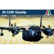 AC-119K Gunship - 1/72 - Italeri 153