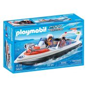 Playmobil City Action - Bote de Resgate da Guarda Costeira - 5625