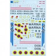 Decalque Grumman S-2 Tracker FAB 1/48 - FCM 48-041