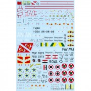 Decal Mirage IIIE BR FAB 1/48 - FCM 48-029