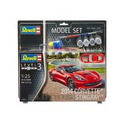 Model-Set Corvette Stingray 2014 - 1/25 - Revell 67060
