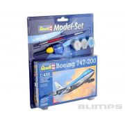 Model-Set Boeing 747-200 - 1/450 - Revell 63999