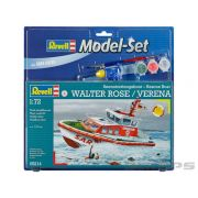 Model-Set Rescue Boat Walter Rose/Verena - 1/72 - Revell 65214
