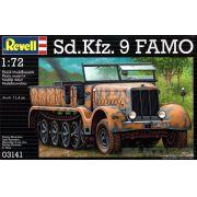 Veículo semilagarta Sd.Kfz. 9 FAMO - 1/72 - Revell 03141