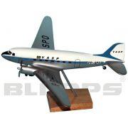Maquete Douglas DC-3 VASP - 27 cm