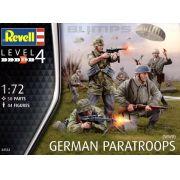 Paraquedistas Alemães da Segunda Guerra Mundial - 1/72 - Revell 02532