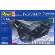 Lockheed F-19 Stealth Fighter - 1/144 - Revell 04051
