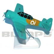 Maquete T-6D número 1 da Esquadrilha Oi - 17 cm